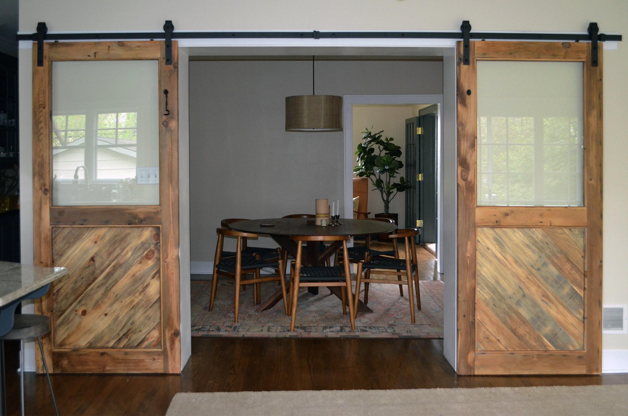 rustic sliding barn door abodeacious On rustic sliding glass doors