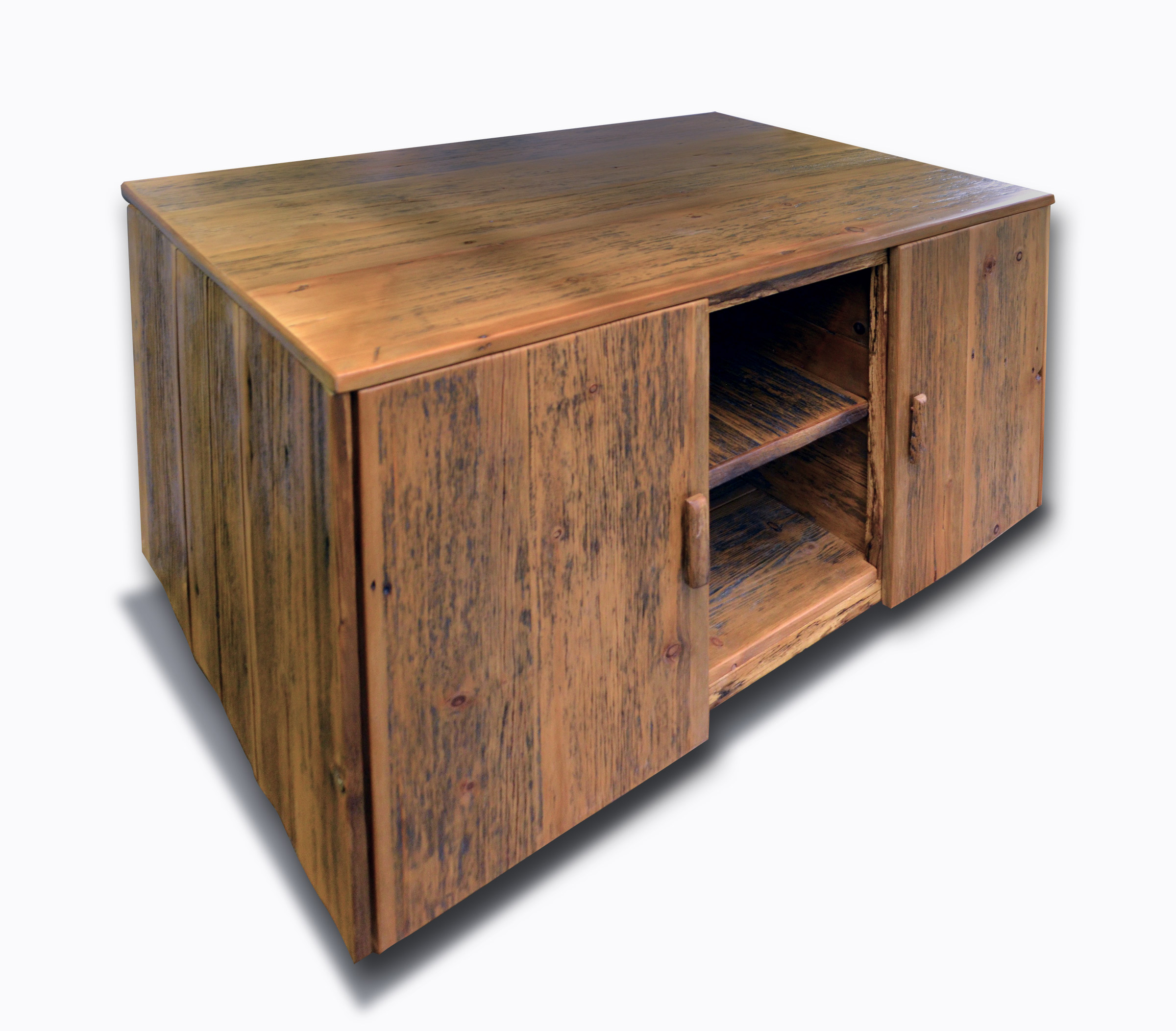 Reclaimed Media Cabinet Rustic Reclaimed Wood Media Cabinet Abodeacious