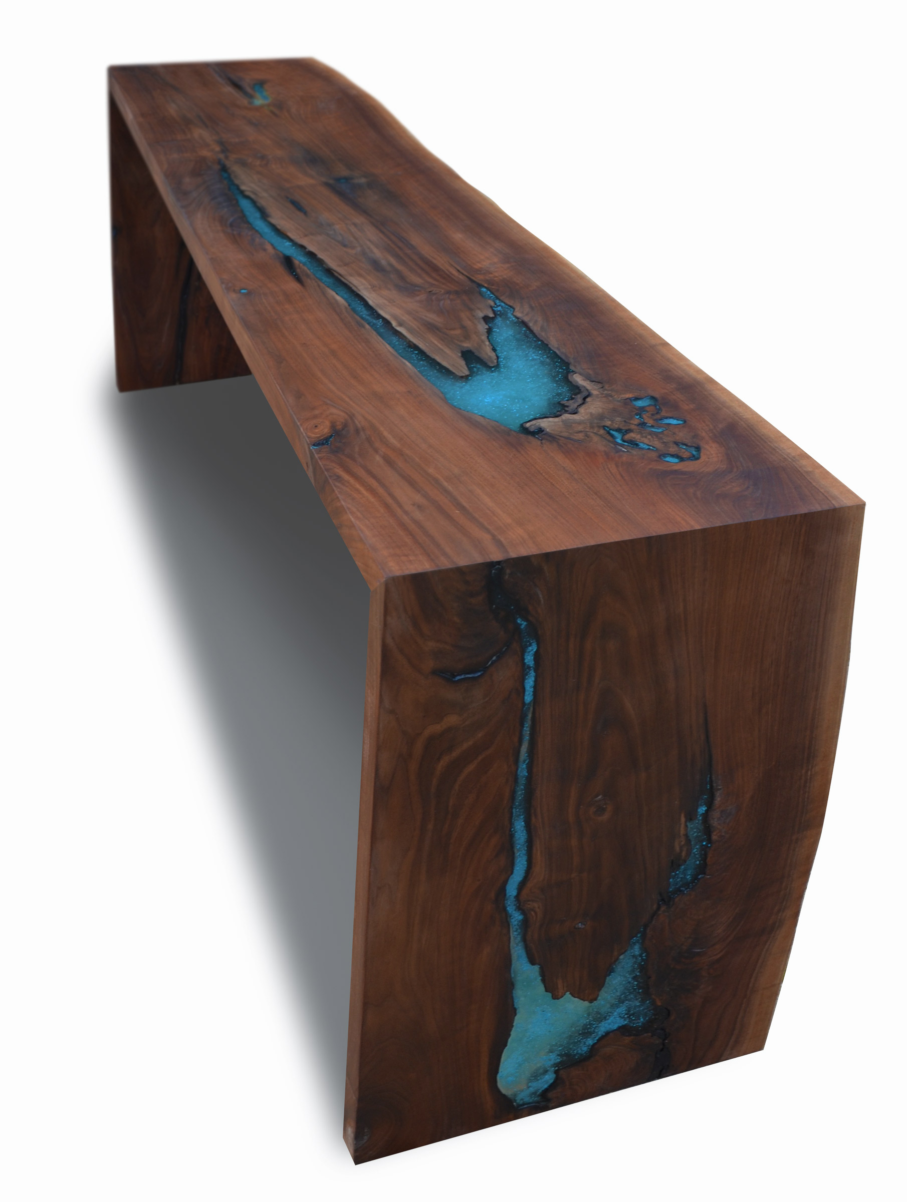 live edge walnut dining console abodeacious. Black Bedroom Furniture Sets. Home Design Ideas