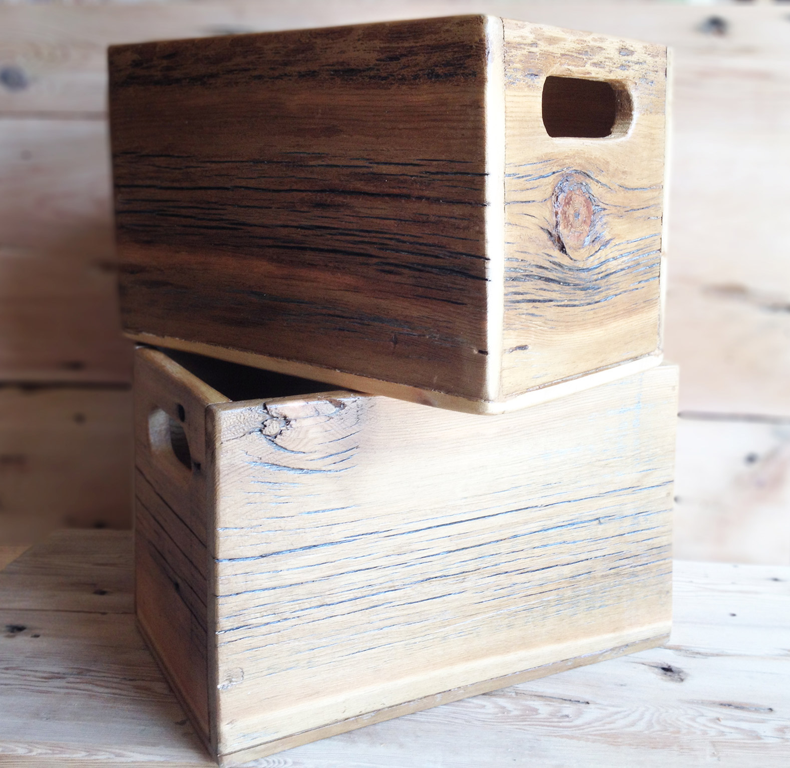 wood-Boxes2WV & Reclaimed wood storage boxes | Abodeacious
