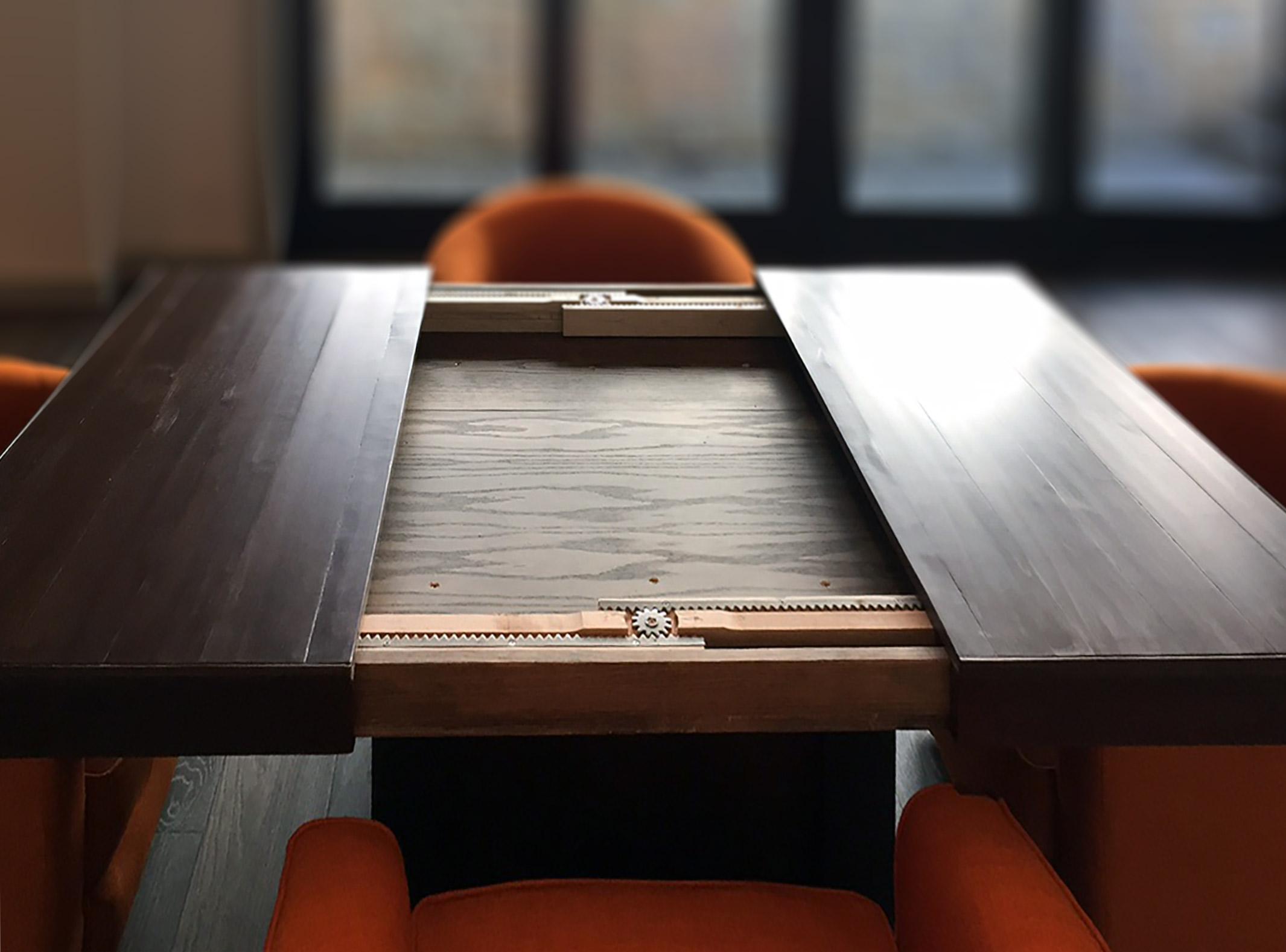 Walnut Game Table Abodeacious