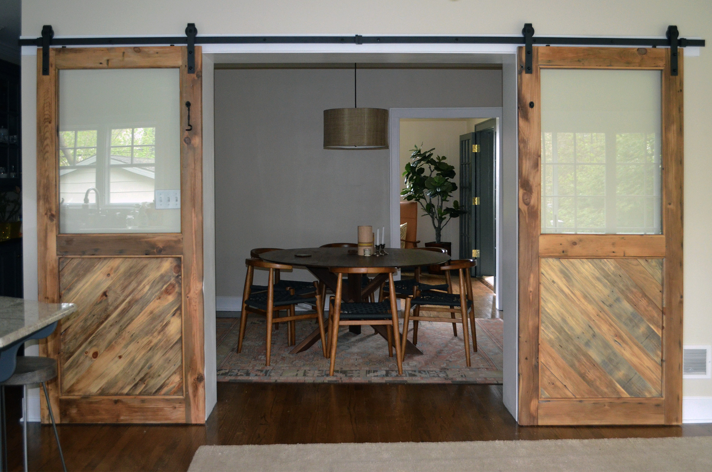 youtube barns to how watch door the install easy rolling so simple smooth barn wood doors oh