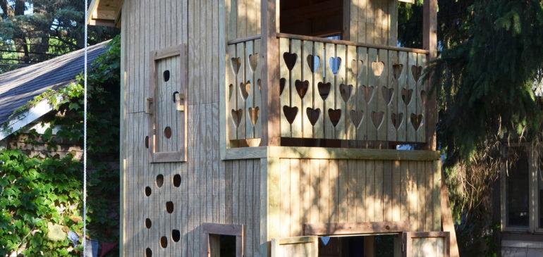 Custom made playhouse