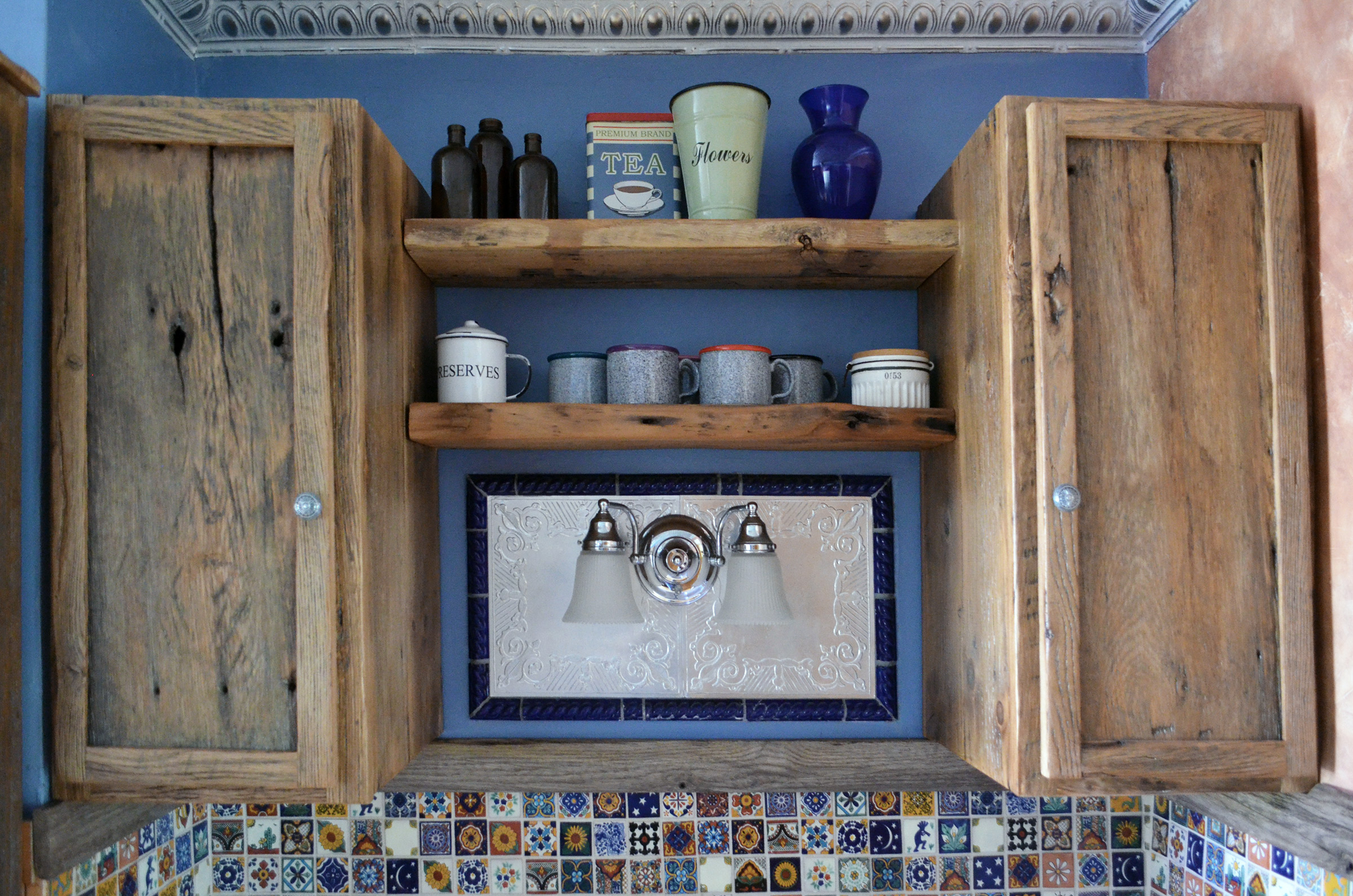 RCARusticKitch2 & Rustic oak kitchen cabinets | Abodeacious
